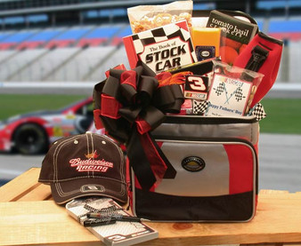 And The Race Is On Sports Themed Nascar Lovers Gift Chest - Large