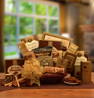 A Gift of Chocolate Gourmet Gift Basket for Any Occasion