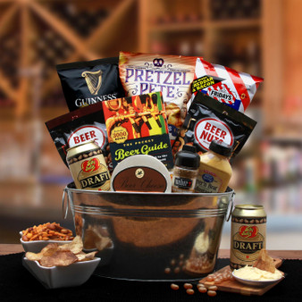 Beer Lovers Gift Pail Gourmet Gift for Any Occasion