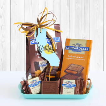 California Ghirardelli Chocolate Tray Gift for Any Occasion