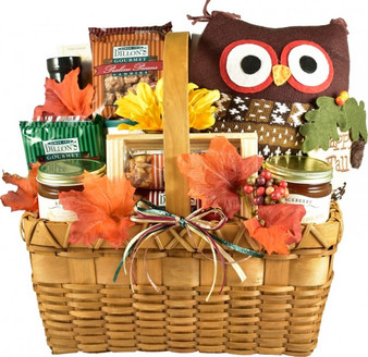 Whoo... Loves Fall? Autumn Gift Basket