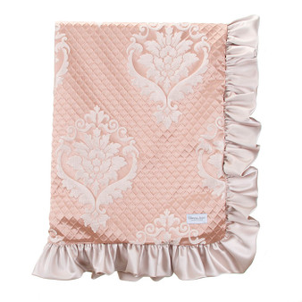 Angelica Collection Crib Quilt / Blanket