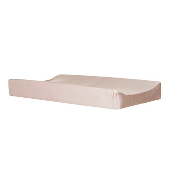 Angelica Collection Changing Pad Cover  - Solid Champagne Beige