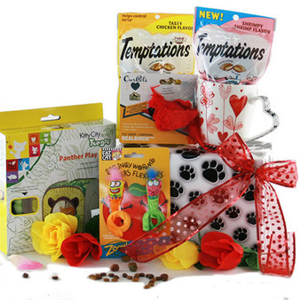 For the Love of Cats: Pet Cat Gift Basket