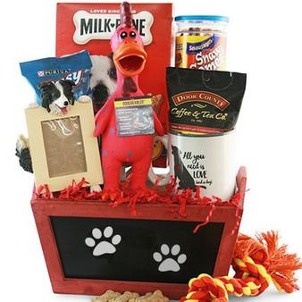 Pampered Pooch: Pet Dog Gift Basket