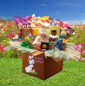 Family Fun Easter Care Package Gift Box
