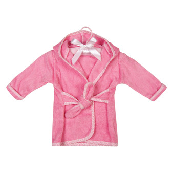 Trend Lab Cotton Terry Infant Robe - Pink