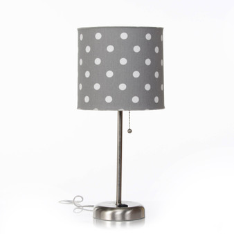 Dottie & Spot Collection Mod Table Lamp with Shade (18x8.5x8.5) (60W)