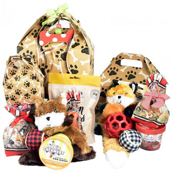 Pampered Pooch, Goodie Gift Box For Pet Dogs