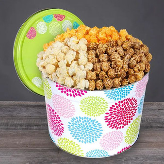 Jubilee Popcorn Tin Gift for Any Occasion - Choose Flavor and Tub Size