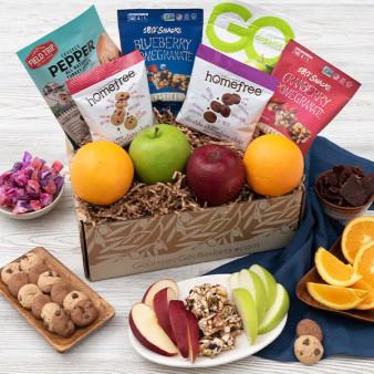 Gluten-Free with Fresh Fruit Gourmet Glee Gift Box