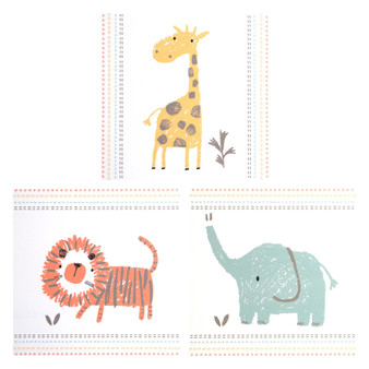 Crayon Jungle 3 Pack Canvas Wall Art by Sammy & Lou®