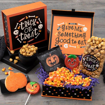 Halloween Candy Stash - Trick Or Treat Gift Box