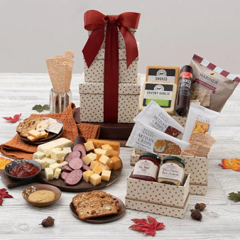 Fall Harvest Gift Tower for Any Occasion