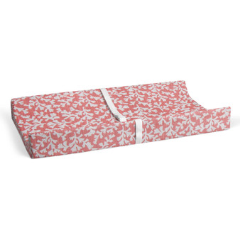 Coral Fusion Changing Pad Cover by Glenna Jean