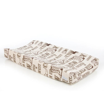 Carson Collection Changing Pad Cover by Glenna Jean
