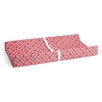 Riley Changing Pad Cover by Glenna Jean