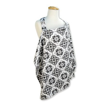 Trend Lab Versailles Black and White Nursing Cover