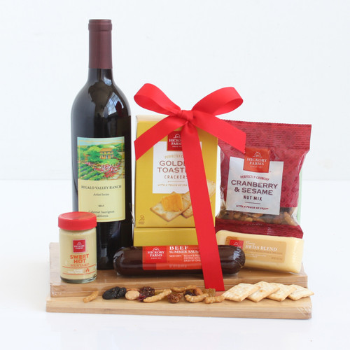 California Wine Experience! Wine and Gourmet Gift Basket