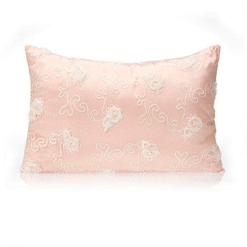 Lil' Princess Collection Small Pillow Sham (Floral Overlay)