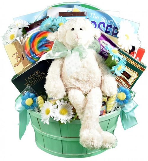 Precious Little Lamb, Gift Basket for Kids and Families