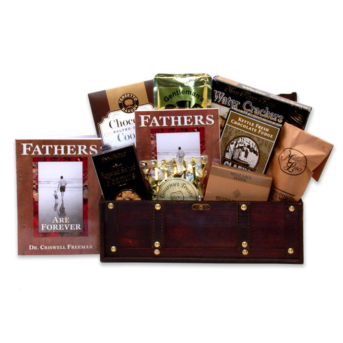 Father's Are Forever Gift Chest for Dad