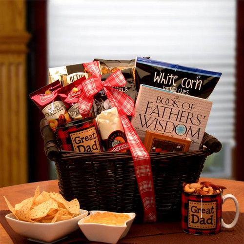 He's A Great Dad Gift Basket for Father's Day