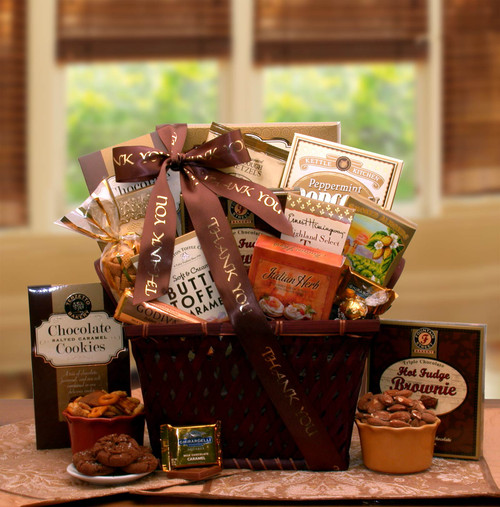 A Very Special Thank You Gourmet Appreciation Gift Basket