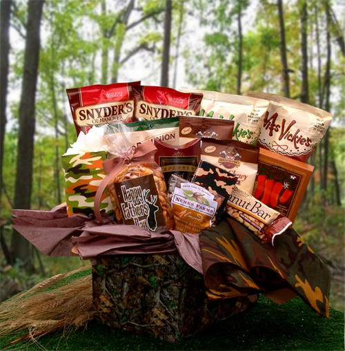 Camo Man Care Package Gift for Any Occasion