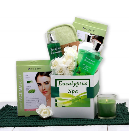 Eucalyptus Spa Care Package Gift Set for Her