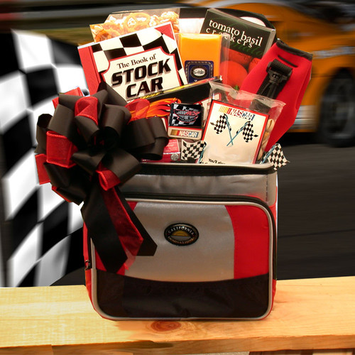 And The Race Is On Sports Themed Nascar Lovers Gift Chest - Medium