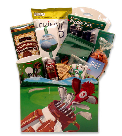 Golf Delights! Sports Themed Gift Box for Any Occasion - Medium