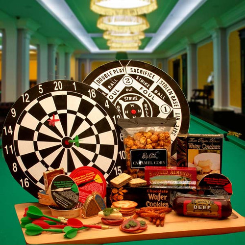 Bullseye Deluxe Sports Themed Gift Set for Any Occasion