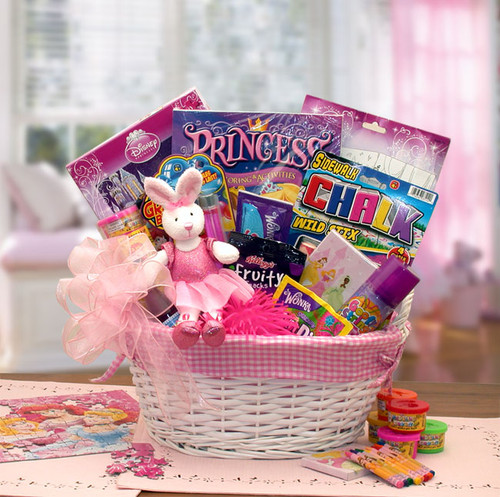 A Little Disney Princess Kid's Gift Basket for Girls