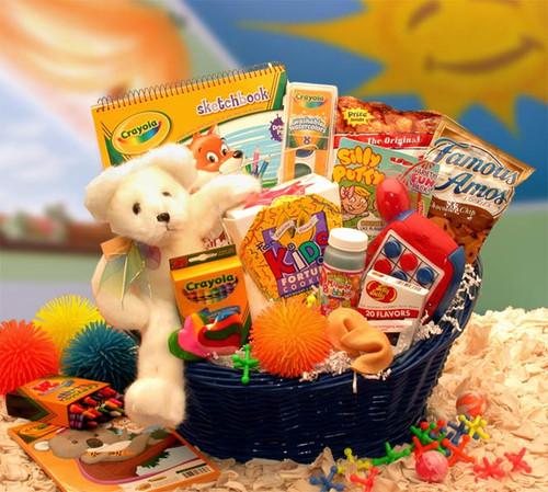 Kids Stop Activity Gift Basket for Children