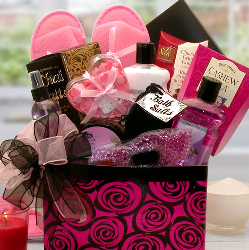 A Spa Day Getaway Gift Box for Her