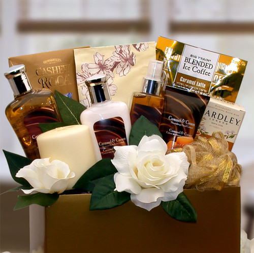Caramel Inspirations Spa Gift Box for Her