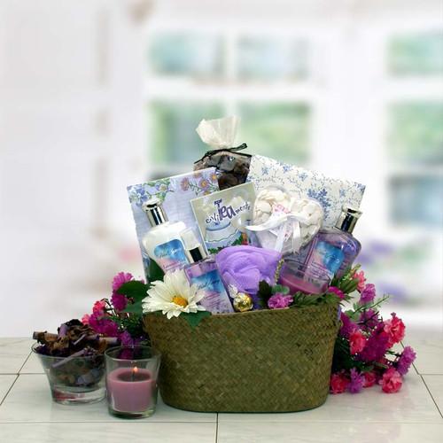 The Healing Spa Gift Basket for Women
