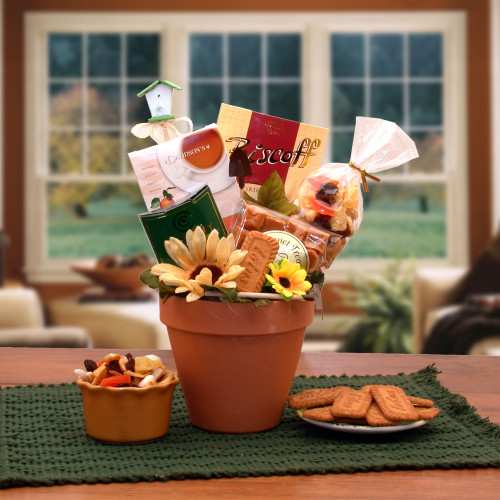 Sunflowers For You Garden Themed Gift Basket for Any Occasion