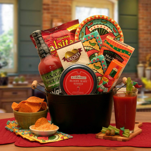 A Bloody Mary Mixer Gourmet Gift Basket for Any Occasion
