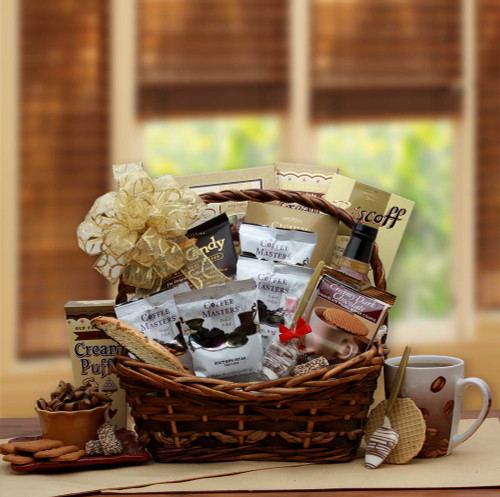 Coffee Time Gourmet Gift Basket for Any Occasion