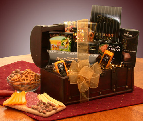 The Gourmet Connoisseur Gift Chest for Any Occasion