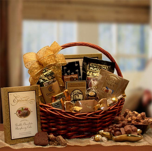 Chocolate Gourmet Gift Basket for Any Occasion