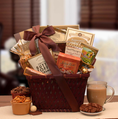 Classic Favorites Gourmet Gift Basket for Any Occasion