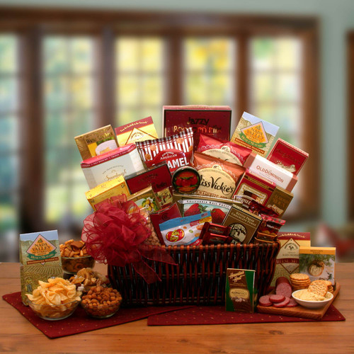 Grand Gourmet Ambassador Gift Basket for Any Occasion