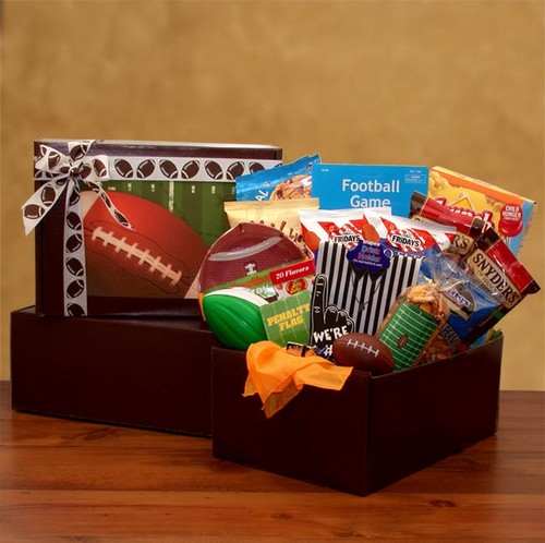 Football Fan Gift Pack Sports Themed Care Package