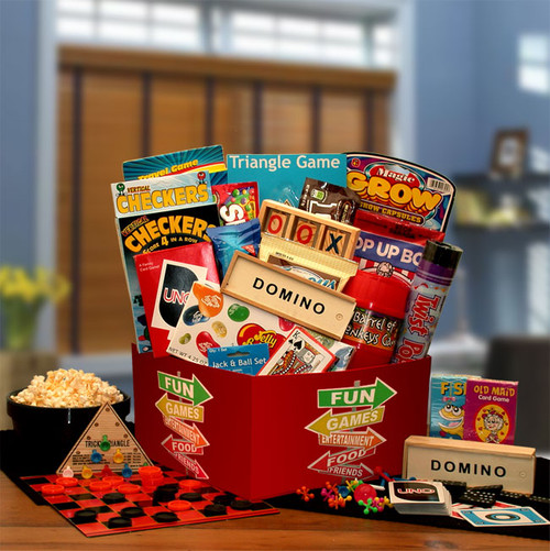 More Fun & Games Gift Box Care Package