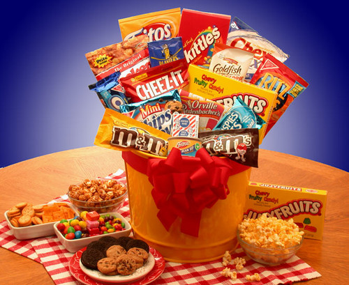 Junk Food Madness Snack Gift Pail