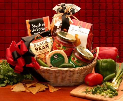 Lets Spice it up! Salsa Snack Gift Basket