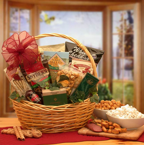 Snack Attack Gift Basket for Any Occasion - Small